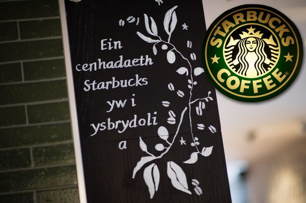 Business Language Services Baffling translations at Starbucks' new Aberystwyth branch