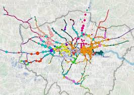 Business Language Services Interactive map illustrates spread of languages in London