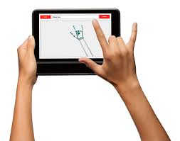 Business Language Services A tablet that can translate sign language into speech