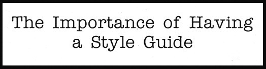 Business Language Services The Importance of a Style Guide For Both Writers and Translators