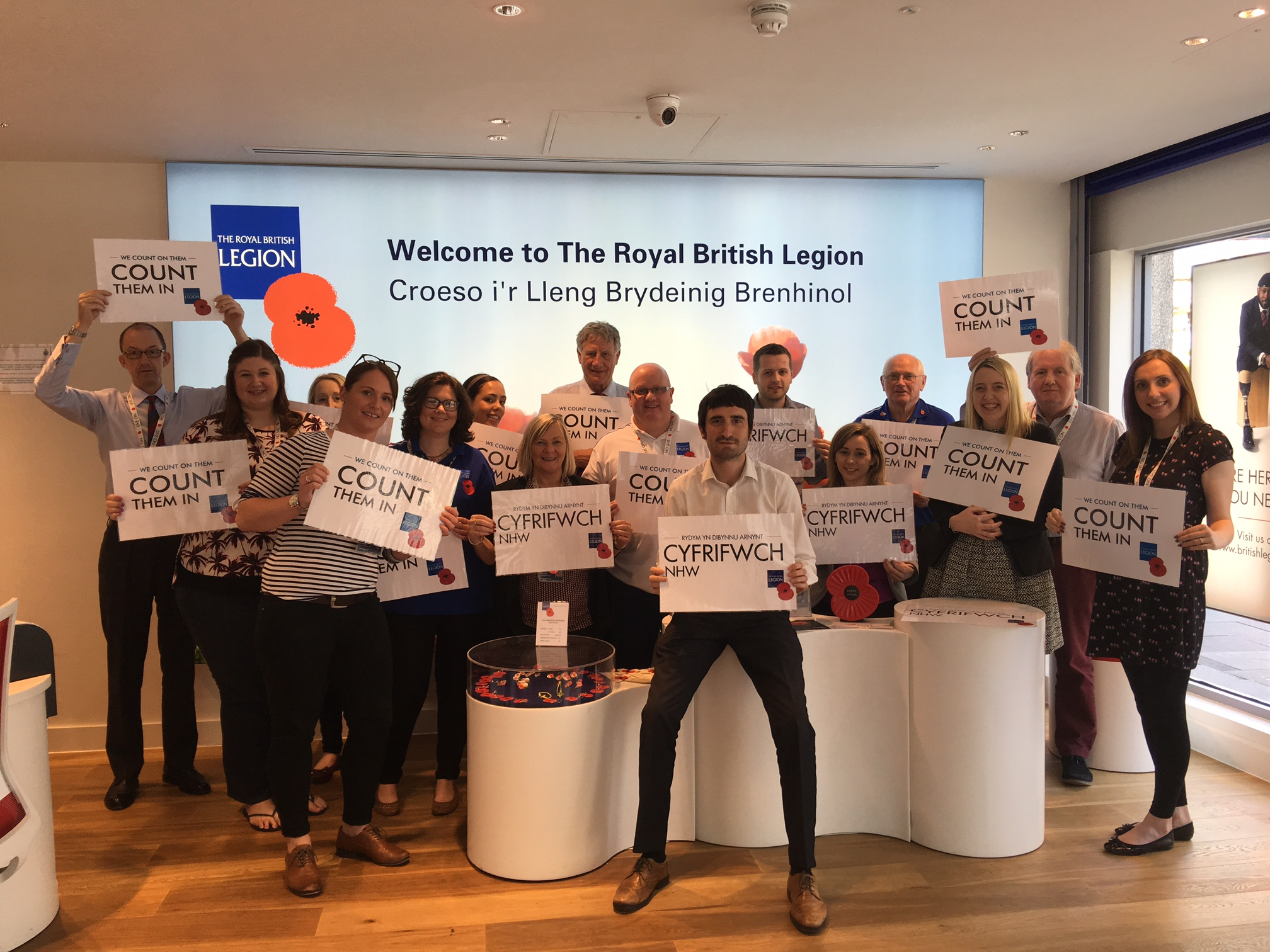 Business Language Services Business Language Services supports Royal British Legion Campaign